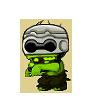 Robo Zombie LightGreen