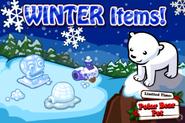 Winter Items Loading Screen
