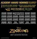 Zootopia Awards