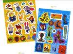 Zootopia Mini Sticker Coloring Set Disney Child Gift Deco Fun Play Diary Present4