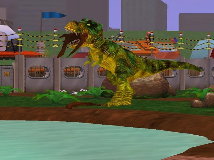 Zoo Tycoon 2 T Rex by