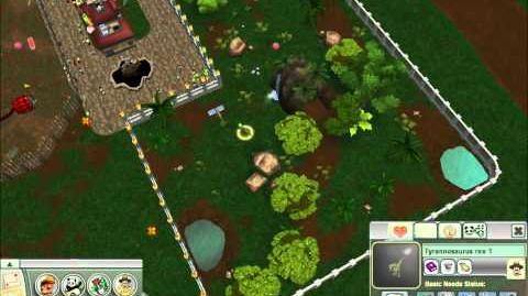 Zoo Tycoon 2 Extinct Animals T. Rex Trouble FINAL ! TGNArmy