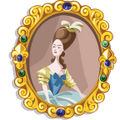 FamousQueens marie antoinette-icon