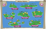 Mellow Waters map