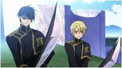 Konatsu alongside Hyuuga