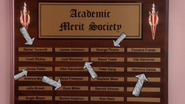 Academic merit society