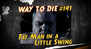 Fat Man in a Little Swing