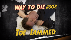 Toe Jammed