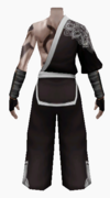 Fujin-winters chill robe-male-back