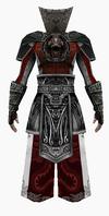 Fujin-emperor armor-male-back