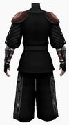 Fujin-dead god armor-male-back