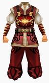 Guanyin-wisdom robe-male