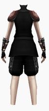 Fujin-dead god armor-female-back
