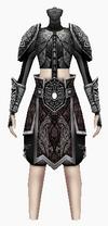 Fujin-seven black dragon armor-female