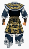 Guanyin-tiger robe-male-back