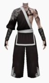 Fujin-winters chill robe-male