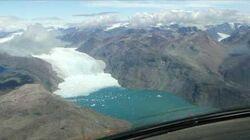 VLJ Embraer Phenom 100 Landing at Narsarsuaq Airport in Greenland (BGBW)