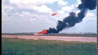 Apollo 11 Neil Armstrong Lunar Landing Test Vehicle (LLTV) Crash (May 6, 1968)