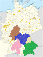 Franconia and Wuttembourg