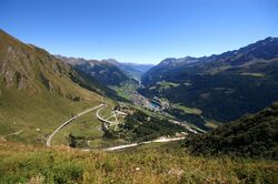 Passo San Gottardo Versante Sud