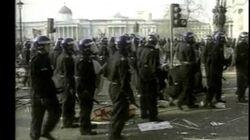 Thatcher Poll Tax Riots 1990