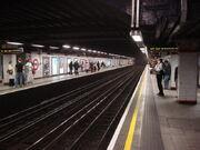Euston Square tube station, Westbound platform - geograph.org.uk - 977128