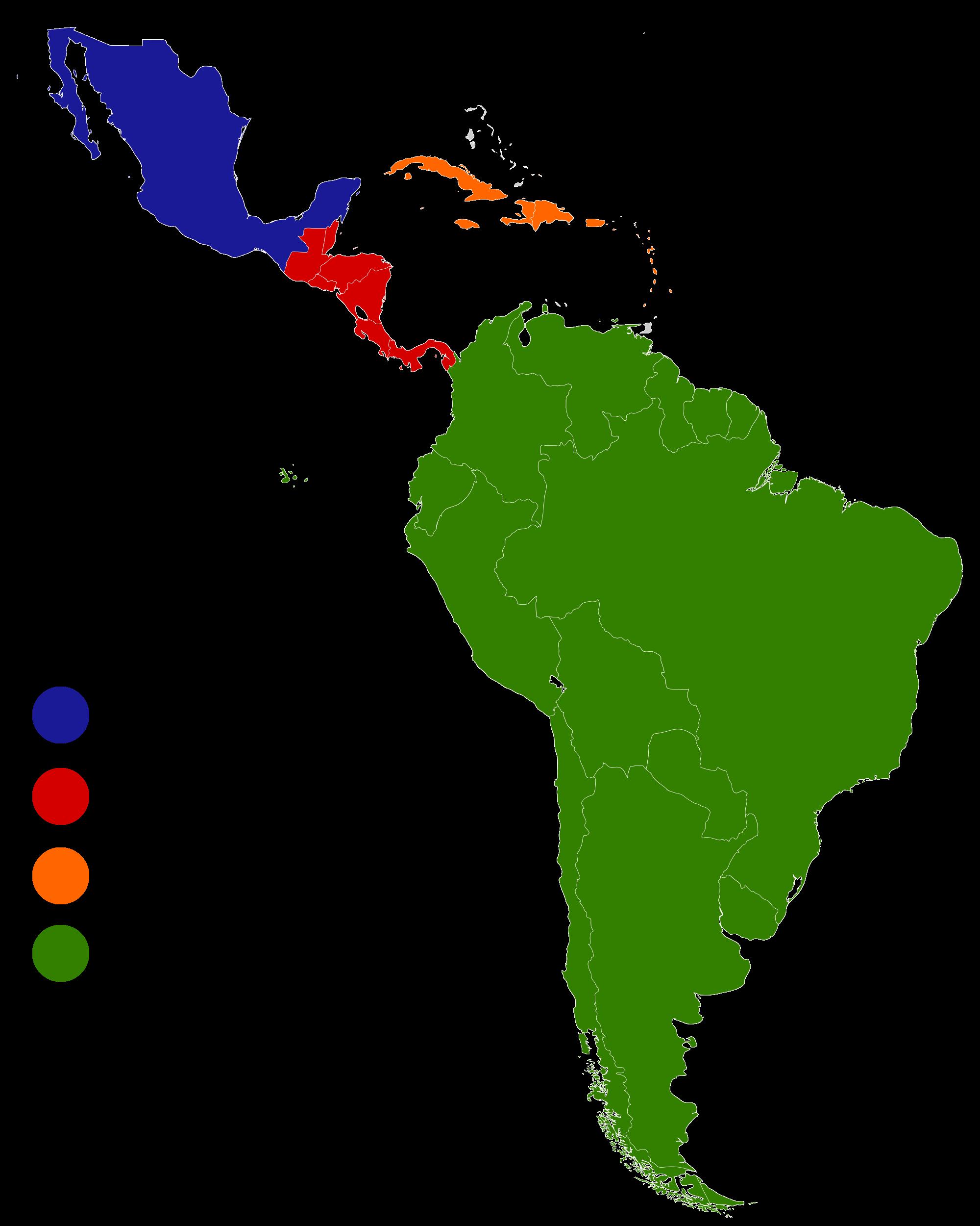 Latin America Regionsg