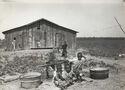 Children of sharecropper, near West Memphis, Arkansas, 1935