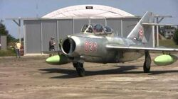 Hungarian MiG-15 first post-restoration flight