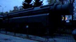 Soviet SS20 medium range nuclear missile