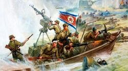 Anti American North Korean Propaganda Paintings