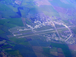 Former RAF Upper Heyford from the air - geograph.org.uk 2355952