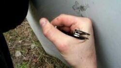 12 Gauge Flechette round test