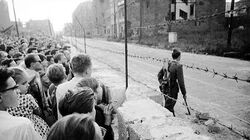 Berlin Wall build (1961)