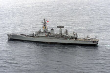 Chilean frigate Almirante Lynch