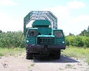 MAZ-543 special purpose truck, Strategic Missile Forces Museum