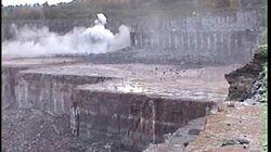 Quarry blasting, Limestone