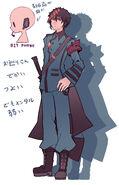 Takamiya character design