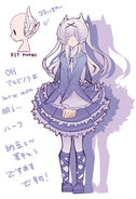 Miumi character design