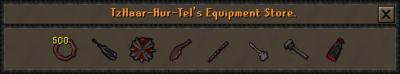 Tzhaar weapon store