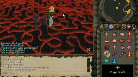 Runescape Fightcaves Killing Jad 2006