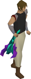 Toxic blowpipe equipped