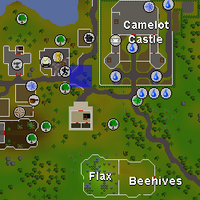 Hot cold clue - near Seers' bank map