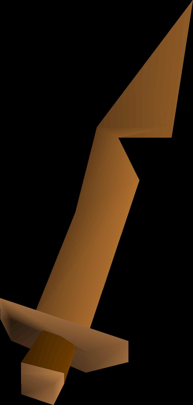 Rusty sword detail