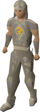 Bandos blessed d'hide armour equipped