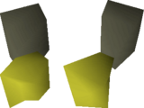 Mining gloves detail