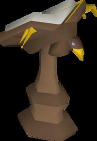 Mahogany eagle lectern built