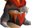 Magma helm (uncharged) chathead