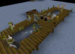 Fishing Guild minnow platform