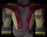 Samurai shirt detail